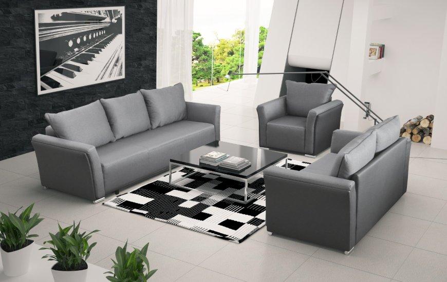 Komplet Wypoczynkowy Dublin Salon Meblowy Sofa