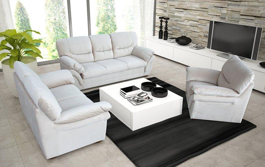 Komplet Wypoczynkowy Rico Salon Meblowy Sofa